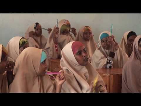 Gender equality classes help Somali teenage girls stay in school
