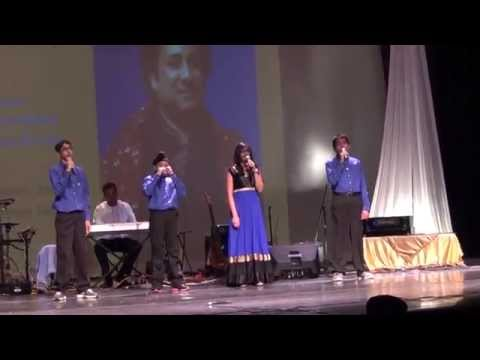 Music recital at Charlotte Latin School