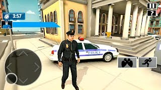 US Police Bike Driving Game - Gangster Chase Simulator - Android Gameplay FHD