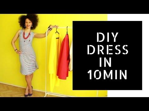 👗 Easy DIY Business Dress in 10min 👗 | Dress Like a #BOSS