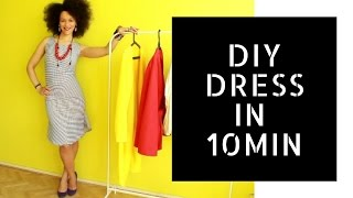 👗 Easy DIY Business Dress in 10min 👗 | Dress Like a #BOSS