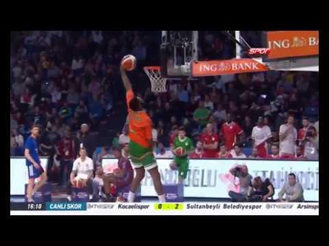 Adonis Thomas Smaç Yarışması Performansı - All Star 2018 Türkiye
