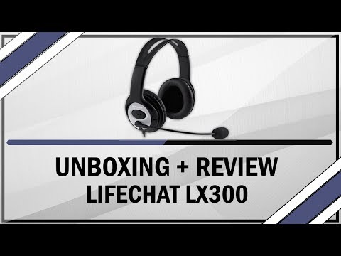 Unboxing + Review Headset LifeChat LX-3000