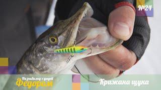 Ловля Щуки со Льда Рыбалка с Дядей Федором 24
