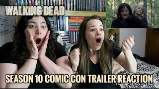 THE WALKING DEAD SEASON 10 COMIC CON TRAILER REACTION