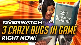 Overwatch   3 Crazy Bugs in the game currently!