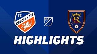 FC Cincinnati vs. Real Salt Lake | HIGHLIGHTS - April 19, 2019