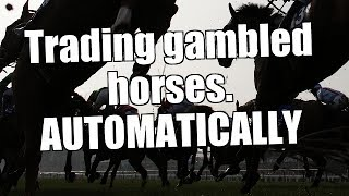 Betfair trading - Trading gambled horses - Automatically - 1/3