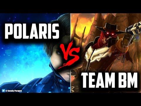 Paragon Competitive Lt. Belica Gameplay - Polaris vs Team BM