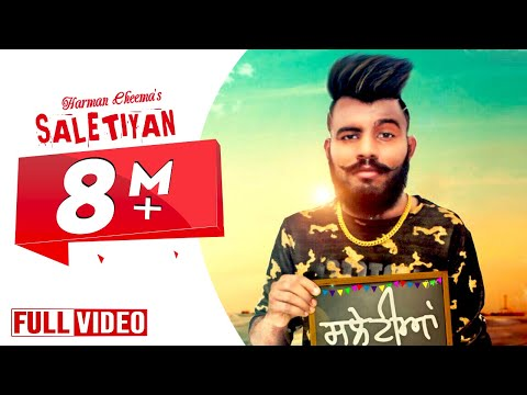 LATEST PUNJABI SONG 2017 || SALETIYAN ||  HARMAN CHEEMA FEAT RANDY J || DESI SWAG RECORDS