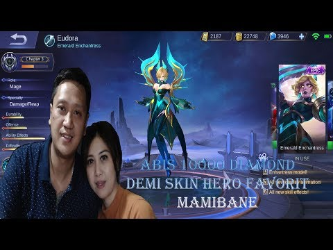 download Papibane Beli Skin Mobile Legends Termahal 12000 Diamond Spring Box demi skin Hero Favorit Mamibane