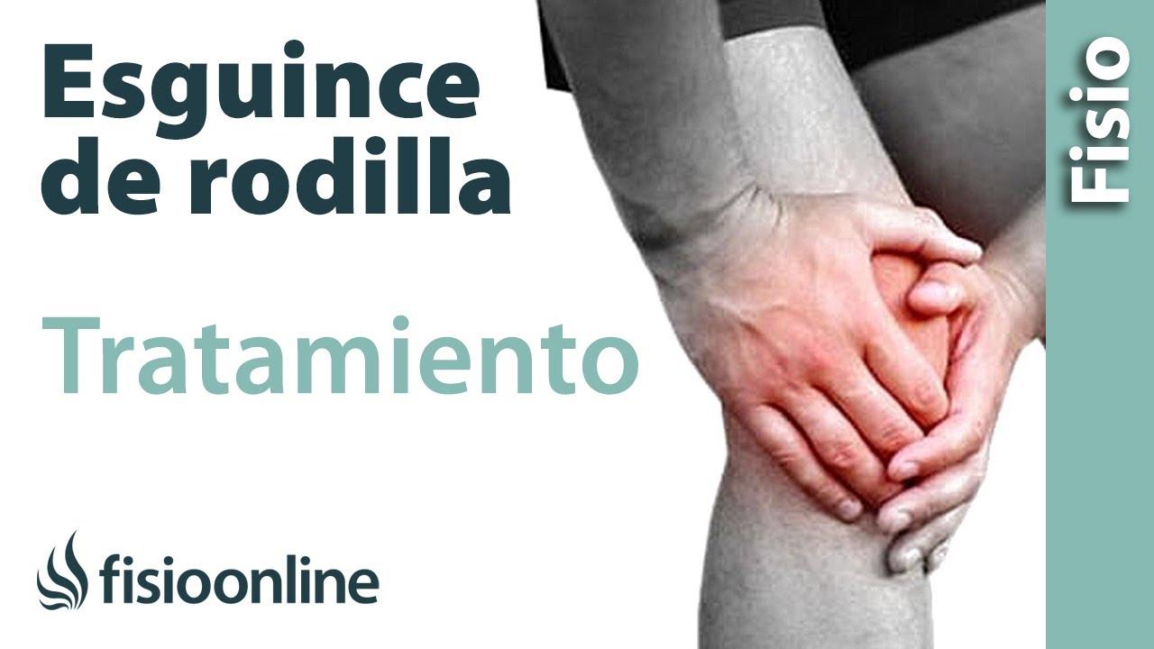 distension en la rodilla sintomas