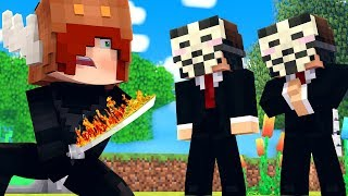 Minecraft HACKER - NINJA GIRLFRIEND vs HACKERS! (Minecraft Kids Roleplay)