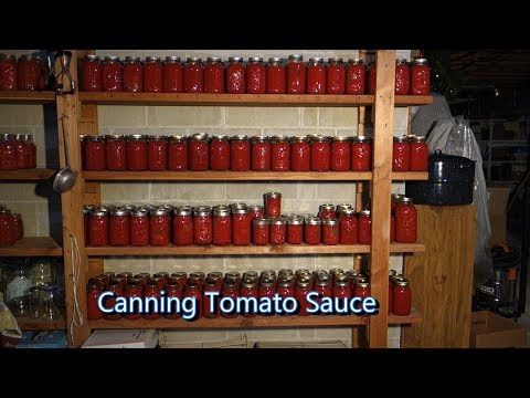 Italian Grandma Makes Canned Tomato Sauce