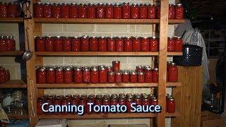Italian Grandma Makes Canned Tomato Sauce