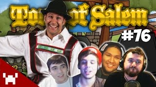 THE YODELING MAFIA! (Town of Salem QUAD FACECAM w/ The Derp Crew Ep. 76)