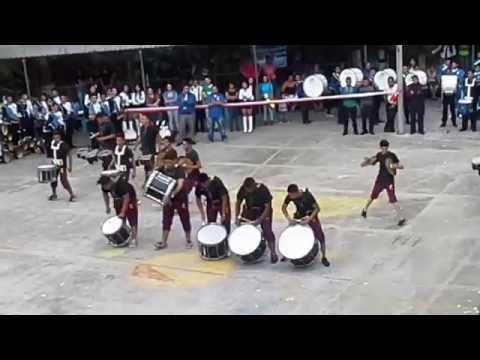 Coruña Drum & Bugle corps linea de percusión 2015