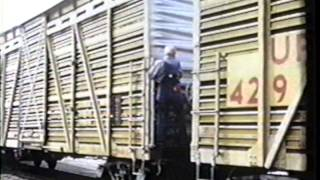 """Getting Off on the Right Foot"" -- Railroad Safety Film circa 1972"