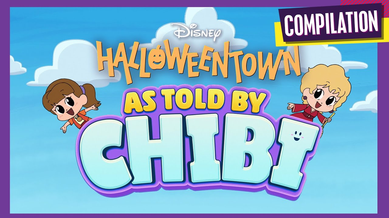 Halloweentown Chibi Tiny Tales 🎃 | Compilation | Disney Channel Animation