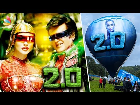 2.0 MAKING : Hot Air Balloon World Tour | Rajinikanth, Amy Jackson, Shankar | Interview