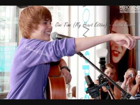 One Time (My Heart Edition) - Justin Bieber - Official HQ.