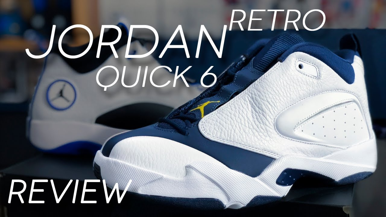 075778be7ee JORDAN JUMPMAN QUICK 6 RETRO REVIEW | JORDAN QUICK 23 - YouTube