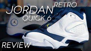 JORDAN JUMPMAN QUICK 6 RETRO REVIEW   JORDAN QUICK 23