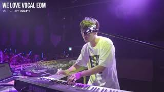 [Vietsub i.m2411] SHAUN 숀 - Lunisolar (LIVE) (Festival edit) @WE LOVE VOCAL EDM