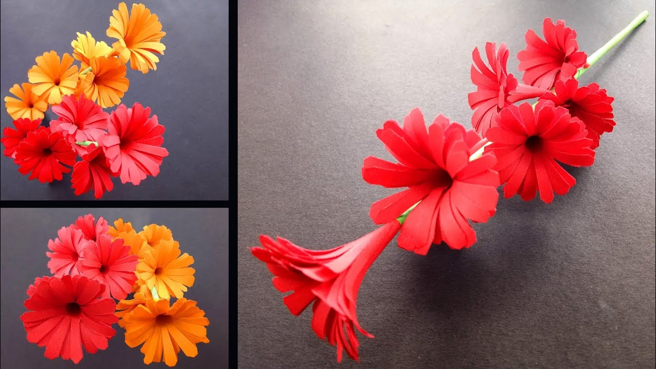 How To Make A Sticky Gift Flower Easy Flowers Making Handmade Gift Ideas Diy Paper Crafts 2