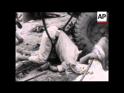 KATANGA ATTACK ON UN FORCES   - NO SOUND