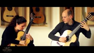 Duo Amythis Mallorca Isaac Albéniz on two 2015 Roy Fankhänel guitars