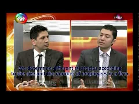 Duran Inci Interviewed on Live TV in Izmir Turkey on Internet Marketing Technologies