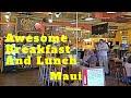 CJ's Deli Lahaina Maui. Best Breakfast. Good Sandwiches & Box Lunches