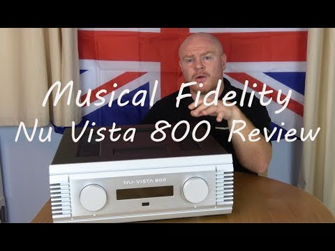 Musical Fidelity Nu Vista 800 HiFi Integrated Amplifier Review - Can it replace a Pre Power Combo