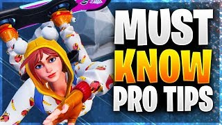 HOW TO TAKE LESS DAMAGE ON DRIFTBOARDS! New Pro Tips! (Fortnite Battle Royale)
