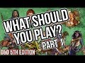 What race should you play in D&D? | A Tutorial for all players: PART 1