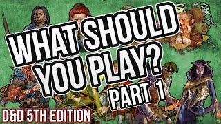 What race should you play in D&D?   A Tutorial for all players: PART 1