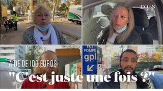 100 euros pour le carburant : des automobilistes parisiens réagissent