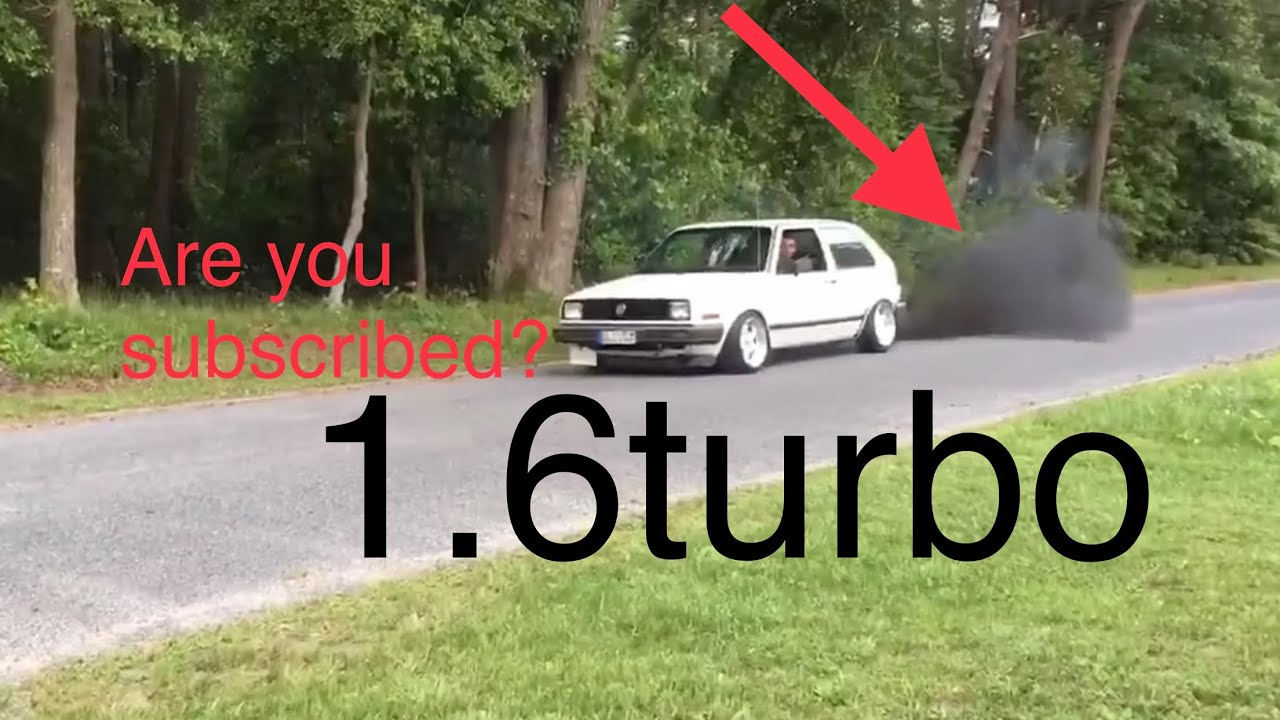 Mk2 1 6 diesel n/a to turbo for a test