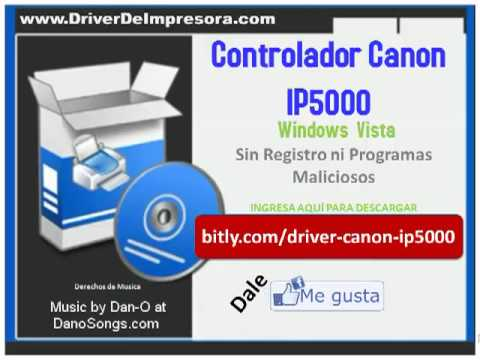 software de impresora canon ip1500