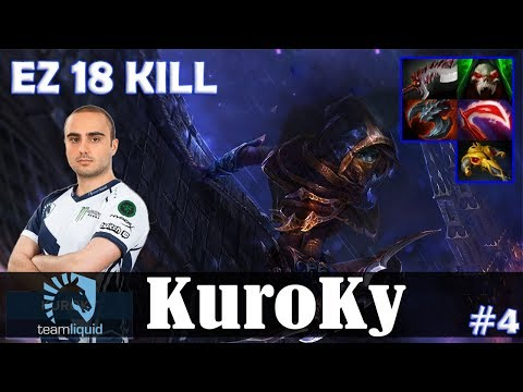 KuroKy - Phantom Assassin Safelane | EZ 18 KILL | Dota 2 Pro MMR Gameplay #4 thumbnail