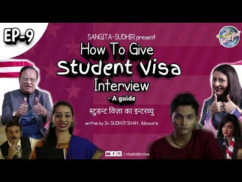 How to give student visa interview - A guide | VISA KI DUNIYA