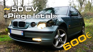 Cheap daily project : 600€ Bmw (Eng subs!)