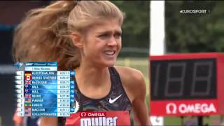 Konstanze Klosterhalfen -  4:21,11 min über die 1.609 m -  Diamond-League-Meeting am 18.08.2019