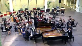 Mozart: Concerto For Two Pianos, K. 365, mvt. 3 (John Young & Felyx Wong)