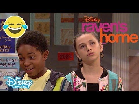 Raven's Home | Sneak Peek: Basketball BAE 🏀❤️ | Official Disney Channel UK