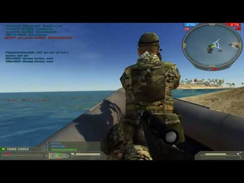 2017 Wake Island I 3 Rounds Top Score!!! (bf2 revive Multiplayer gameplay)
