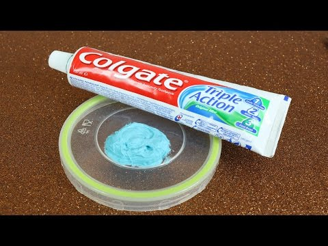 Real 1 ingredient Slime, Only Toothpaste , Easy Slime Recipe, No Glue,No Borax,No Corn Starch