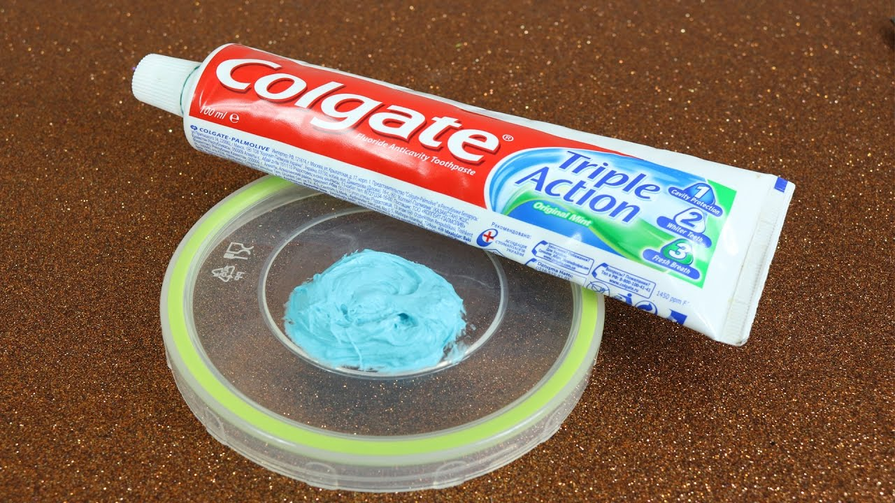 How to make slime with toothpaste and no glue