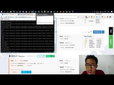 Cara Mining Di Minergate Dengan VPS Linux Ubuntu